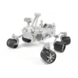 Download free STL files Curiosity Rover, spac3D