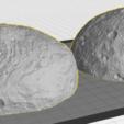 vesta_two_hemi.png Télécharger fichier STL gratuit Vesta • Modèle à imprimer en 3D, spac3D