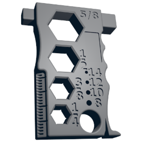 Free STL files Multi-Purpose Precision Maintenance Tool, spac3D