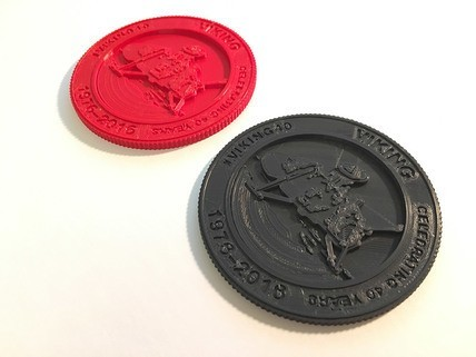 Viking-medallion-3_428x321.jpg Download free STL file Viking 40th Anniversary Emblem • 3D printer object, spac3D