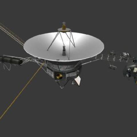 jpl-vtad-voyager-428-321.jpg Download free STL file Voyager • 3D printable template, spac3D