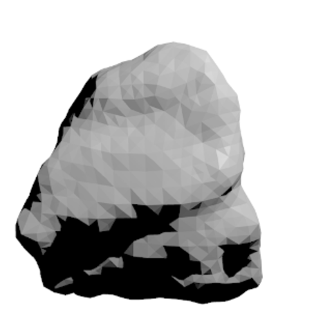Free 3d printer files Golevka Asteroid, spac3D