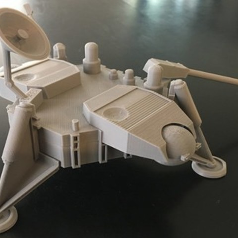 Free Viking Lander - STL 3D printer file, spac3D