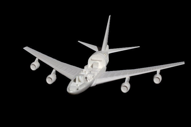 OpenEndView.jpg Download free STL file SOFIA, the Stratospheric Observatory for Infrared Astronomy • 3D printable design, spac3D