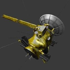 Download free 3D model Cassini, spac3D