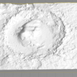 gale_crater.png Download free STL file Gale Crater • 3D printable object, spac3D
