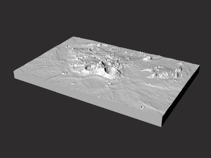 Aristarchusregionmoon3xv_428x321.jpg Download free STL file Aristarchus Region • 3D print design, spac3D