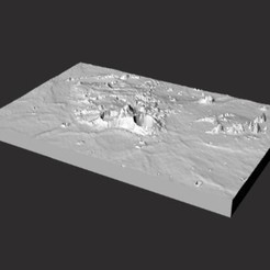 Download free 3D printing designs Aristarchus Region, spac3D