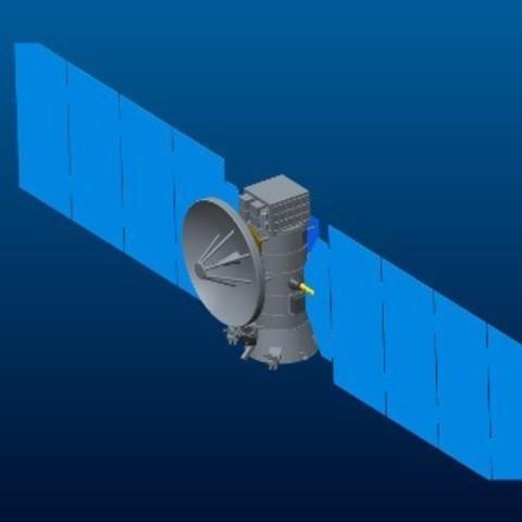 Free Europa Orbiter STL file, spac3D