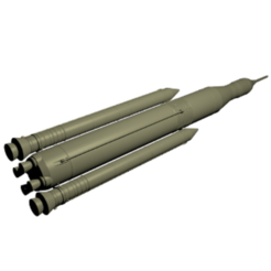 Download free STL files Space Launch System (SLS), spac3D