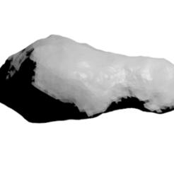 Free 3D model Toutatis Asteroid, spac3D