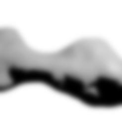 216kleopatra.stl Download free STL file Kleopatra Asteroid • 3D print template, spac3D