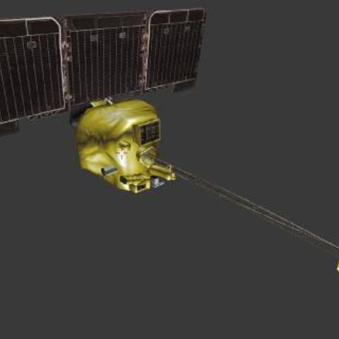 Free Mars Odyssey STL file, spac3D