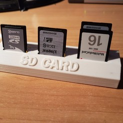 Free 3D print files SUpport SD card, morty82