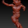 2.png Download STL file GOKU ULTRA INSTINCT COMPLETE POSE • 3D printing model, adrian5