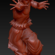 Télécharger plan imprimante 3D GOKU ULTRA INSTINCT COMPLET POSE COMPLÈTE, adrian5