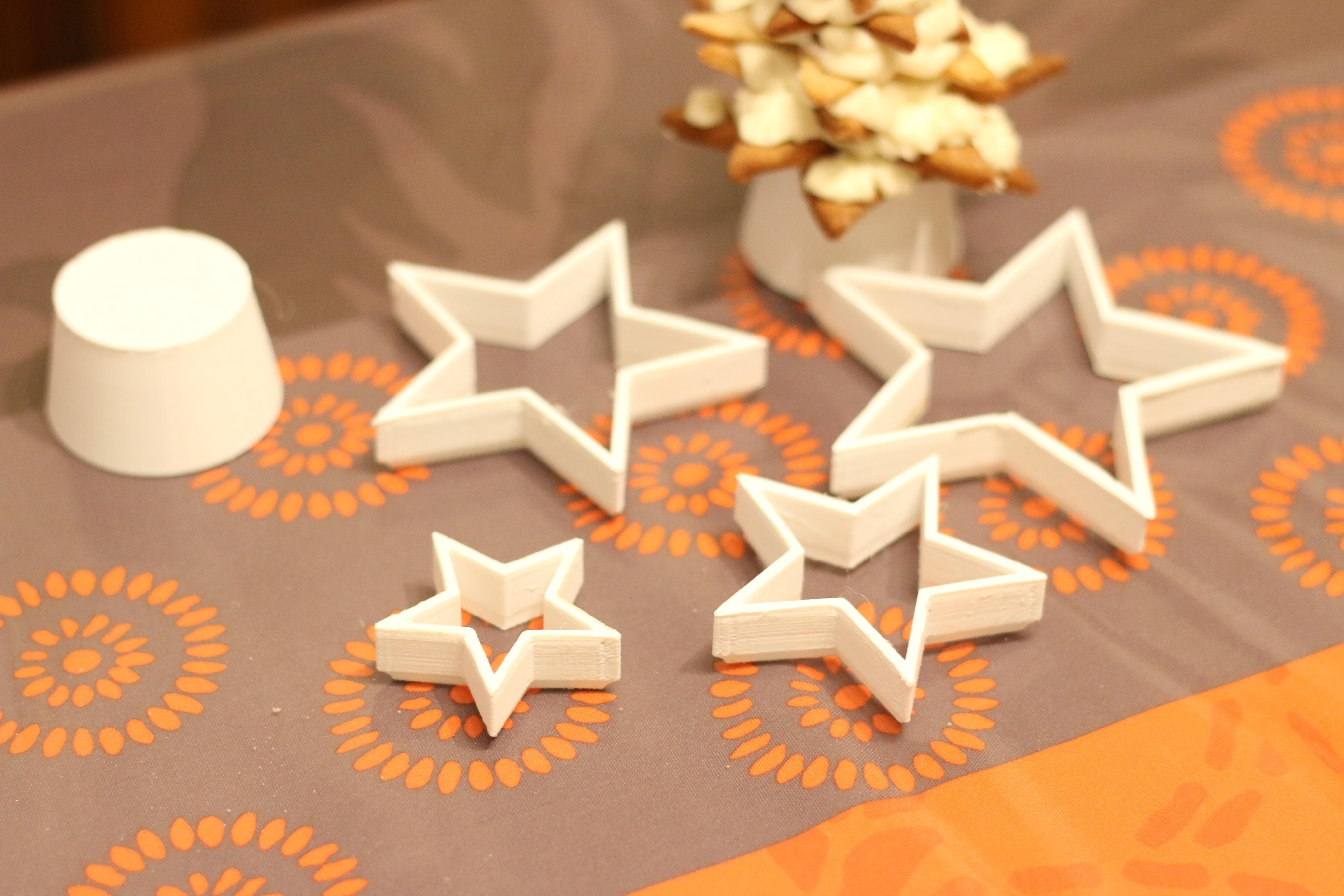 IMG_2270.JPG Download free STL file Empores star parts and pastry rack • 3D printer design, DMS88