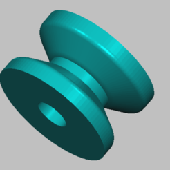 3D printing model pulley weight bench, Qm3dModelisation