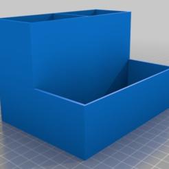 Descargar archivos STL gratis caja de la pluma, TME75
