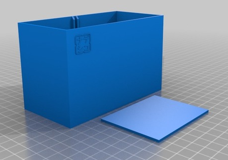 pen box nadeshiko.png Download free STL file pen box with removable separation 12x6x7cm • 3D printing design, TME75