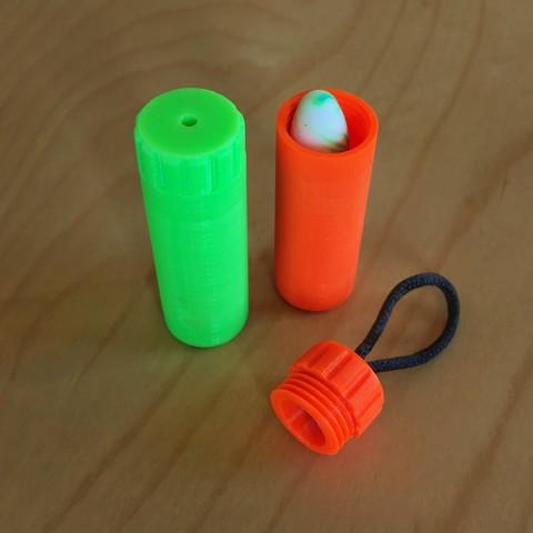 Free 3D printer model Earplug Travel Case, Georg2