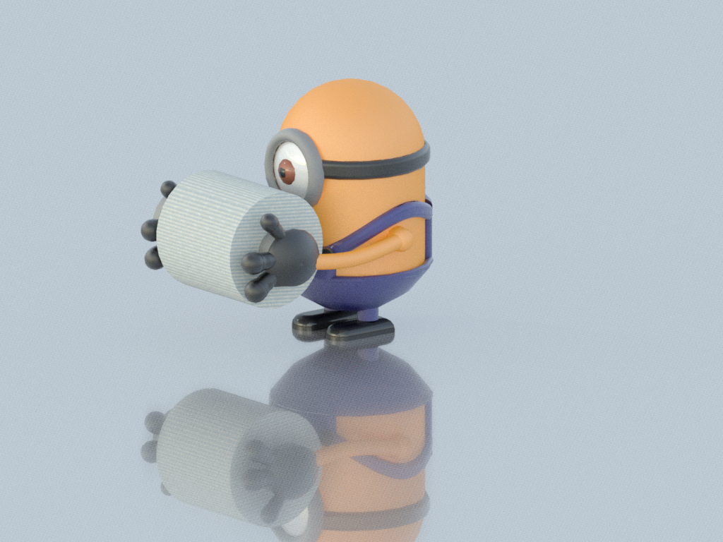 Rollo2.png Download free STL file Toilet paper holder for children / support for the bathroom • 3D printing design, KikeSM