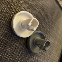 Télécharger STL Roues lave-vaisselle - Roues pour lave-vaisselle ZANUSSI, KikeSM