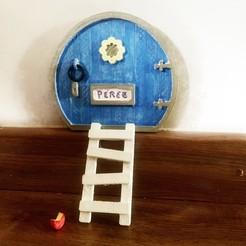 IMG_5240.jpg Télécharger fichier STL Porte magique qui amène votre maison à la fée des dents • Design imprimable en 3D, KikeSM
