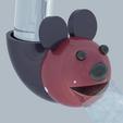 Download free STL file Faucet head for children • 3D printer design, KikeSM