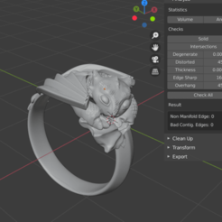 chimuelo_no_deffects.png Download STL file thootless dragon ring • 3D printable design, Gavig
