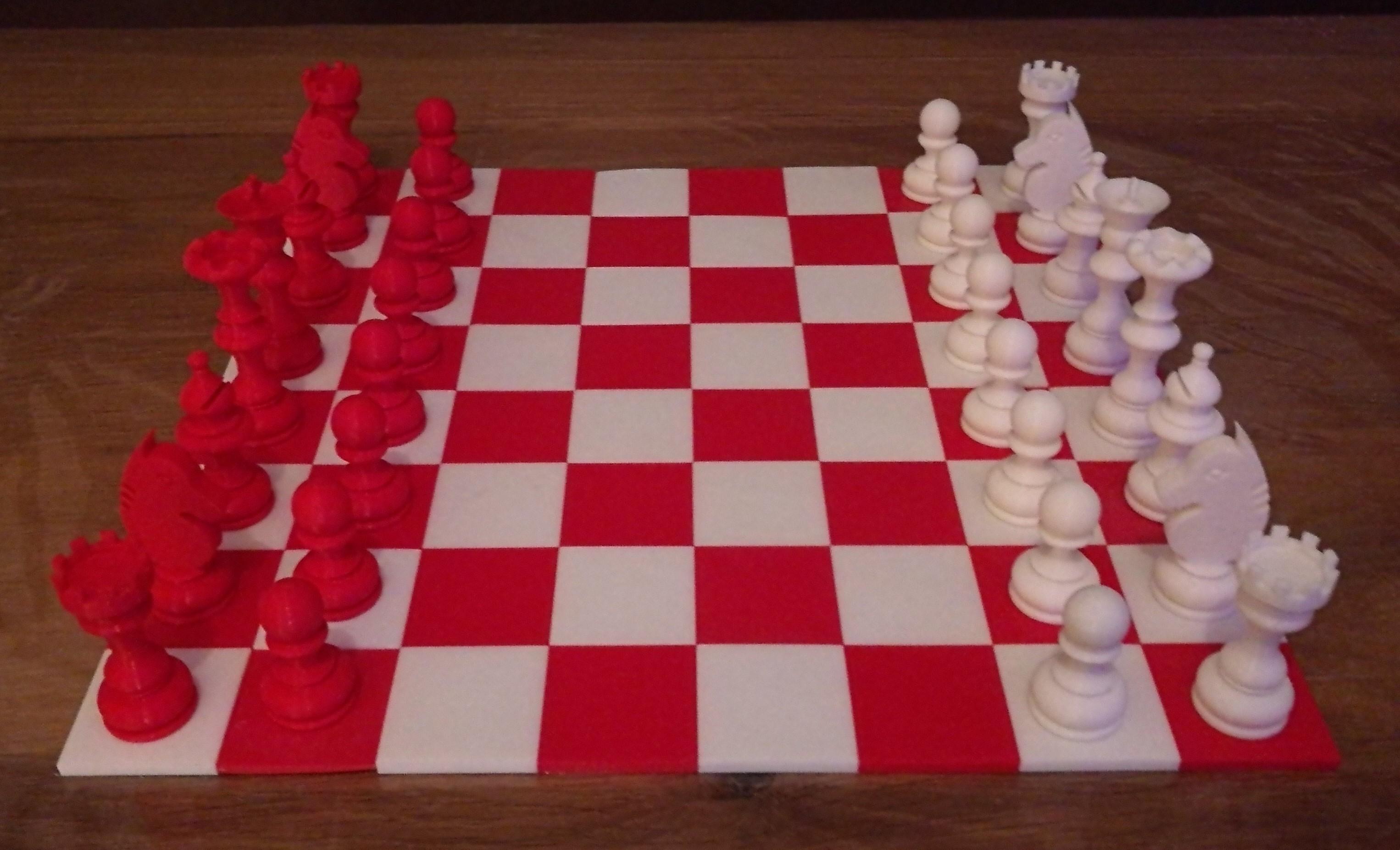 1.jpg Download free STL file Chess set / Chess set • 3D printable model, OC3D
