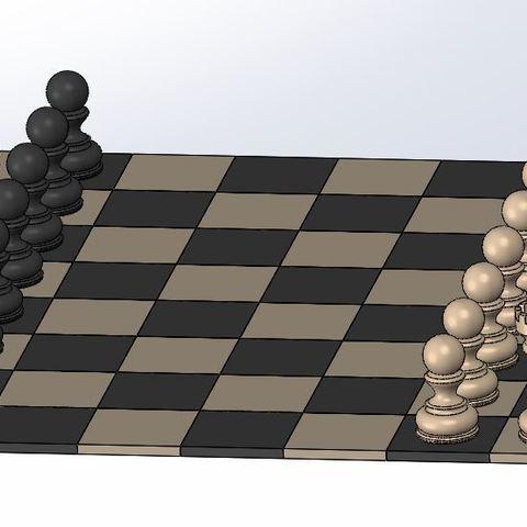 Chess_2.JPG Download free STL file Chess set / Chess set • 3D printable model, OC3D