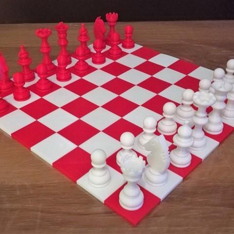 5.jpg Download free STL file Chess set / Chess set • 3D printable model, OC3D