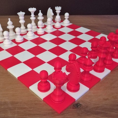 4.jpg Download free STL file Chess set / Chess set • 3D printable model, OC3D