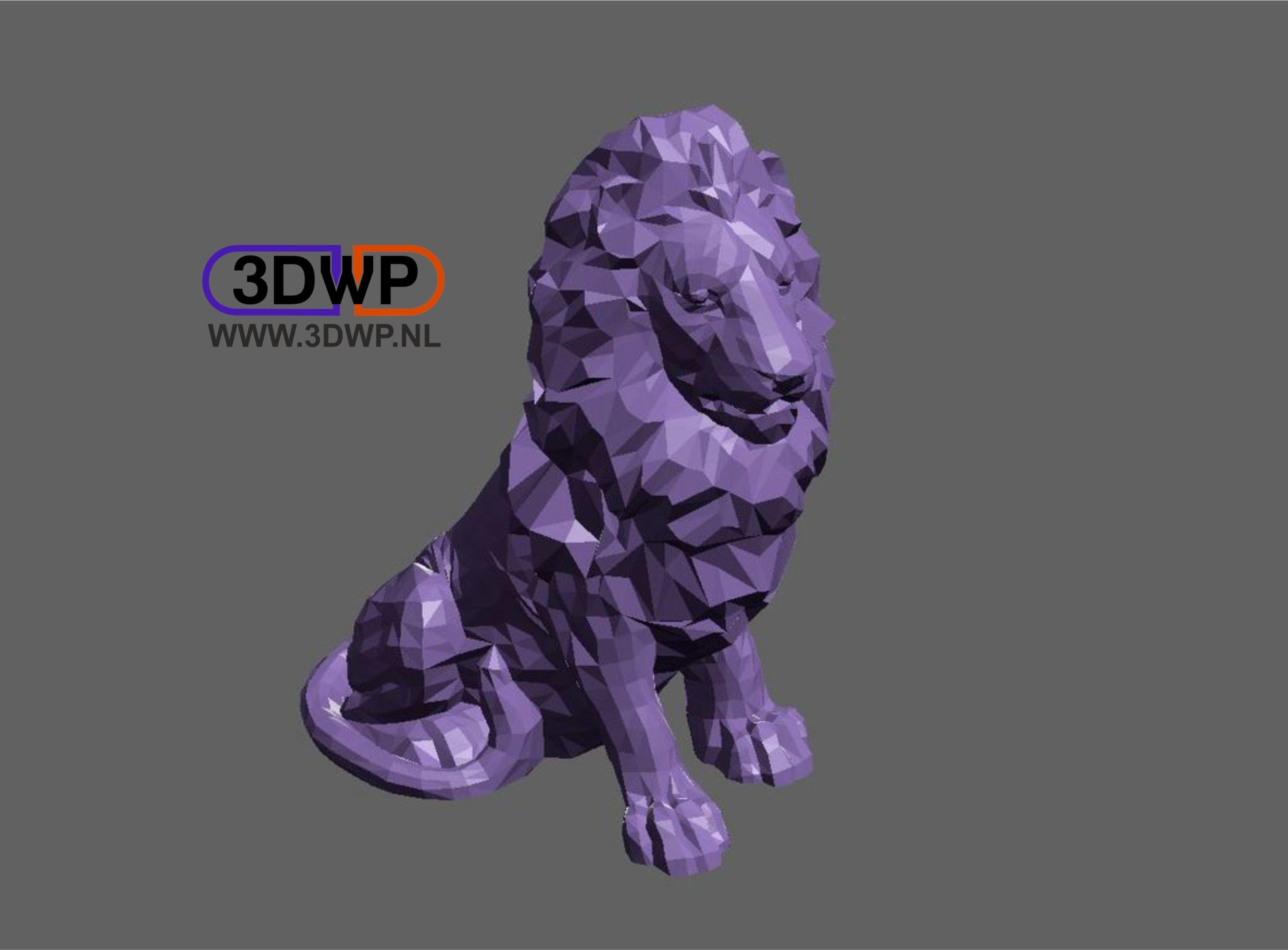 Lion.JPG Télécharger fichier STL gratuit Lion • Modèle imprimable en 3D, 3DWP