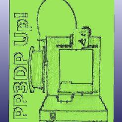 Download free 3D printing designs PP3DP Up! Plus Lithophane, 3DWP