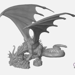 Download free STL file Dragon Sculpture • 3D printing model, 3DWP