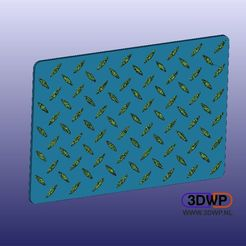Download free 3D printing files Car Floor Mat Protector, 3DWP