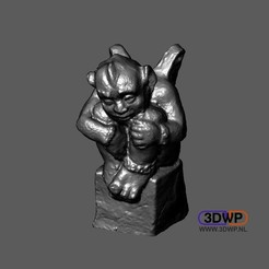 Gargoyle.JPG Download STL file Gargoyle 3D Scan (Grotesque Sculpture) • Design to 3D print, 3DWP
