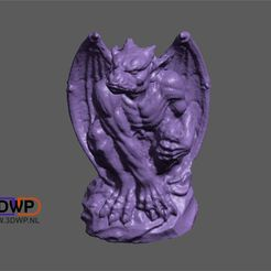 Gargoyle.JPG Download STL file Gargoyle • 3D printer design, 3DWP
