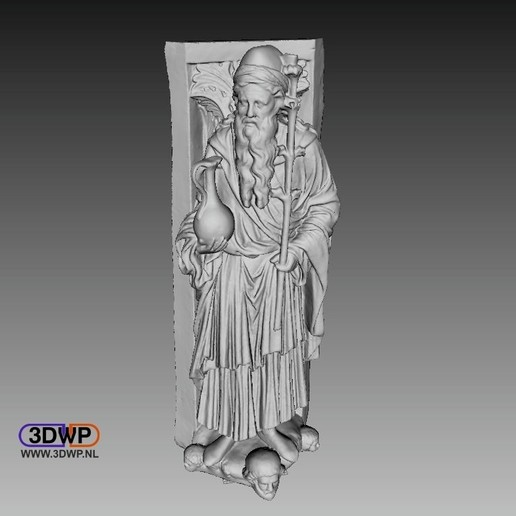 Download free 3D printer templates Golden Gate Of Freiberg Cathedral Statue 3D Scan, 3DWP