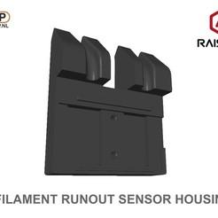 Download free 3D printing designs Raise3D Filament Runout Sensor Housing, 3DWP