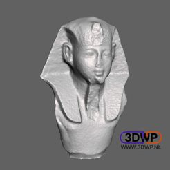 Egyptian.jpg Download free STL file Egyptian Statue 3D Scan • 3D printing design, 3DWP