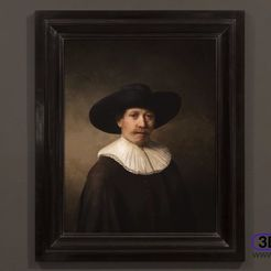 Download free STL file The Next Rembrandt Lithophane, 3DWP