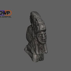 MayanSculpture.JPG Download free STL file Mayan Sculpture (Statue 3D Scan) • 3D printer object, 3DWP