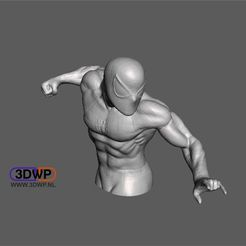 Download free 3D printer files Spider-Man 3D Scan, 3DWP