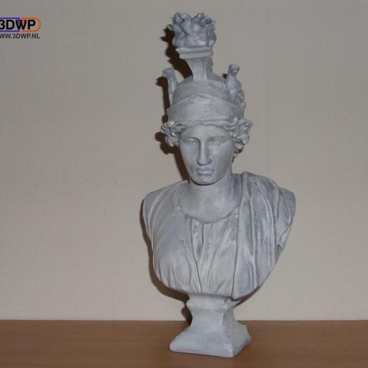 GreekBust3.jpg Download free STL file Greek Bust 3D Scan (Dea Roma/Goddess Rome) • 3D printing object, 3DWP