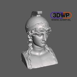 Athena.JPG Download free STL file Athena Bust 3D Scan • 3D printer template, 3DWP