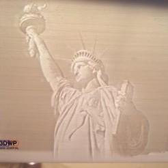 Download free 3D model Statue Of Liberty Lithophane, 3DWP