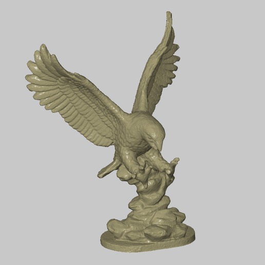 Download free STL file Eagle Statue • 3D print model, 3DWP